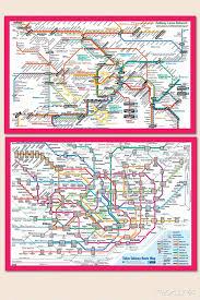 Tokyo Metro Route Map by Japan By Rail Yokotatravel Com
