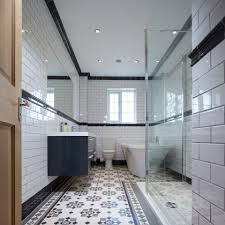tile patterned floor tiles bathroom small home decoration ideas