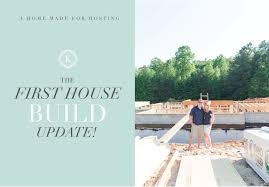 the beginning phases of the house build virginia wedding