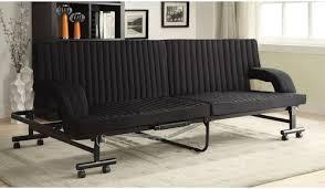 Metal Framed Sofa Beds Coaster Futons 300586 Black Sofa Bed Northeast Factory Direct
