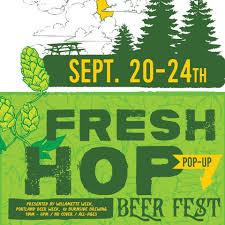Portland Food Map by Fresh Hop Pop Up Beer Fest At Burnside Brewing Co In Portland
