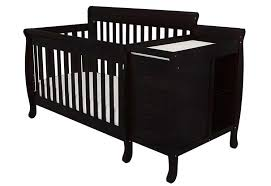 Black Convertible Crib Afg 4 In 1 Convertible Crib And Changer Combo 518