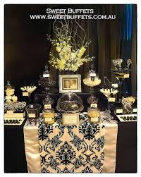 Black And White Candy Buffet Ideas by 32 Best Black U0026rehire Candy Bar Images On Pinterest Dessert