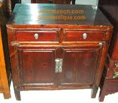 chinese antique end table nightstand 0803 sc189 antique 2 door 2
