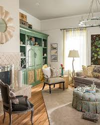 Loft Living Room by Chic Petite Eclectic Apartment 2014 Hgtv