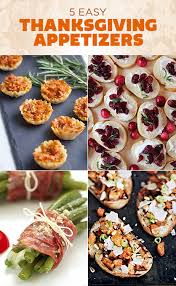5 easy ideas for thanksgiving appetizers ladylux luxury