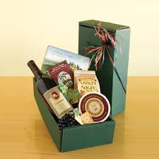 wine and cheese gift baskets california classic wine gift basket hayneedle