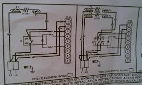 wiring to heat strip for heat pump system doityourself com