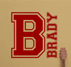 custom boy wall decal large custom monogram boys name