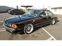 1988 to 1990 bmw m6 for sale on classiccars com 3 available