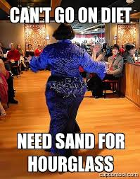 Salsa Dancing Meme - international no diet day belly dance at any size