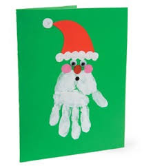 childrens handmade christmas cards chrismast cards ideas
