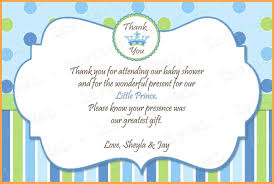 thank you baby shower baby shower thank you note wording ideas house generation