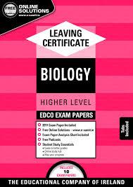exam papers incl 2017 exam leaving cert biology higher