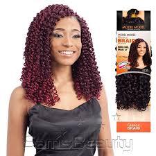 model model crochet hair model model synthetic hair braids glance boho curl hair skin care