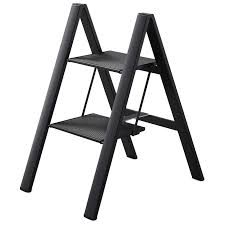 folding u0027ultraslim u0027 aluminum step stool a compact portable and