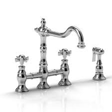 bridge kitchen faucet with side spray riobel kitchen faucets sink bar faucet