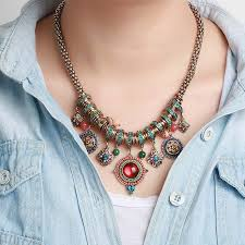necklace boho images Elegant bohemian necklace boho chic shop jpg