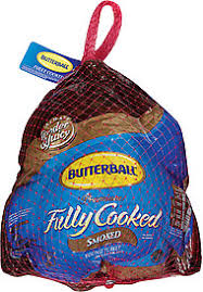butterball cooked turkey butterball turkey smoked premium fully cooked nutrition