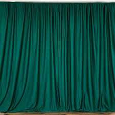 stage backdrops 10ft green polyester curtain stage backdrop partition