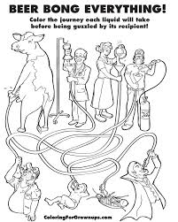 coloring book grown ups captures beautiful horrors