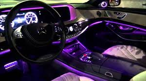 light pink mercedes 2014 mercedes benz s63 amg amazing interior lighting youtube