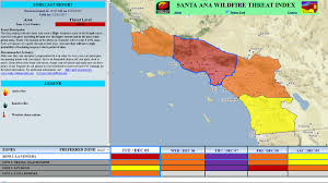 Six Flags Magic Mountain Fire Santa Anas Increased Fire Risk Has Southern California On Edge