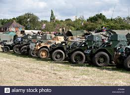 military vehicles military vehicles from the second world war on display at a