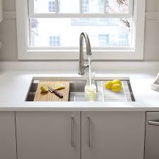 Faucet Kitchen Sink by Best 25 Single Bowl Kitchen Sink Ideas Only On Pinterest Kohler