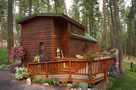 cavco cabin at jack hanna u0027s in montana tiny houses pinterest