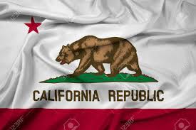 California Bear Flag Republic Waving California State Flag Stock Photo Picture And Royalty Free