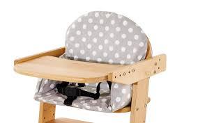 coussin chaise haute bebe housse pour coussin chaise haute pinolino