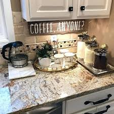 Coffee Kitchen Decor Ideas Coffee Decoration For Kitchen And Remarkable Best Kitchen Counter