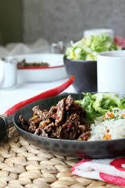 cuisine asiatique boeuf boeuf séché à la chinoise au wok le miam miam
