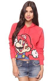 this super mario sweatshirt on the hunt