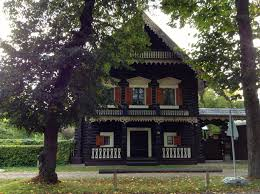 Russian Home Alexandrowka Russian Colony In Potsdam Walled In Berlin