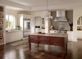 rustic kitchen backsplash kitchen craftsman with cherry cabinets