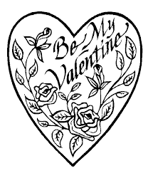 free printable coloring valentines printable coloring pages 35