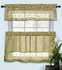 Cafe Tier Curtains Chadwick Curtains Are A Shopisticated Swag Valance U0026 Tier Program
