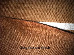 How To Sew Burlap Curtains Stacy Sews And Schools Diy No Sew Burlap Valance Tutorial