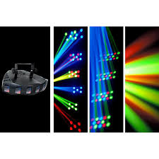 chauvet dj derby x led derby static blackout effect and strobe