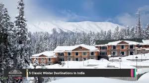 top 5 classic winter destinations in india
