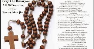 20 decade rosary of by rosarymanjim 20 decade rosary devotion