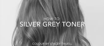 putting silver on brown hair how to get a perfect silver grey toner using fanola youtube