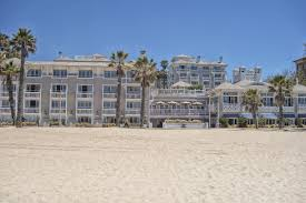 los angeles beach hotels best places on the sand