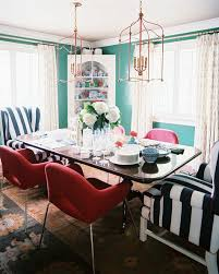 Teal Dining Room Photos Design Ideas Remodel And Decor Lonny - Teal dining room