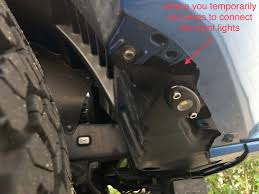 sparks parts 00016 34089 led cargo bed lighting wiring led front light bar rock lights reverse lights and
