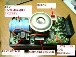 wiring diagram for alarm unit