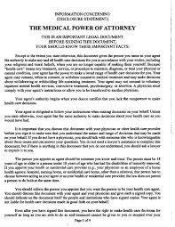 puerto rico medical power of attorney form legalforms org