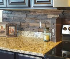 wood backsplash kitchen best 25 wood backsplash ideas on pallet backsplash
